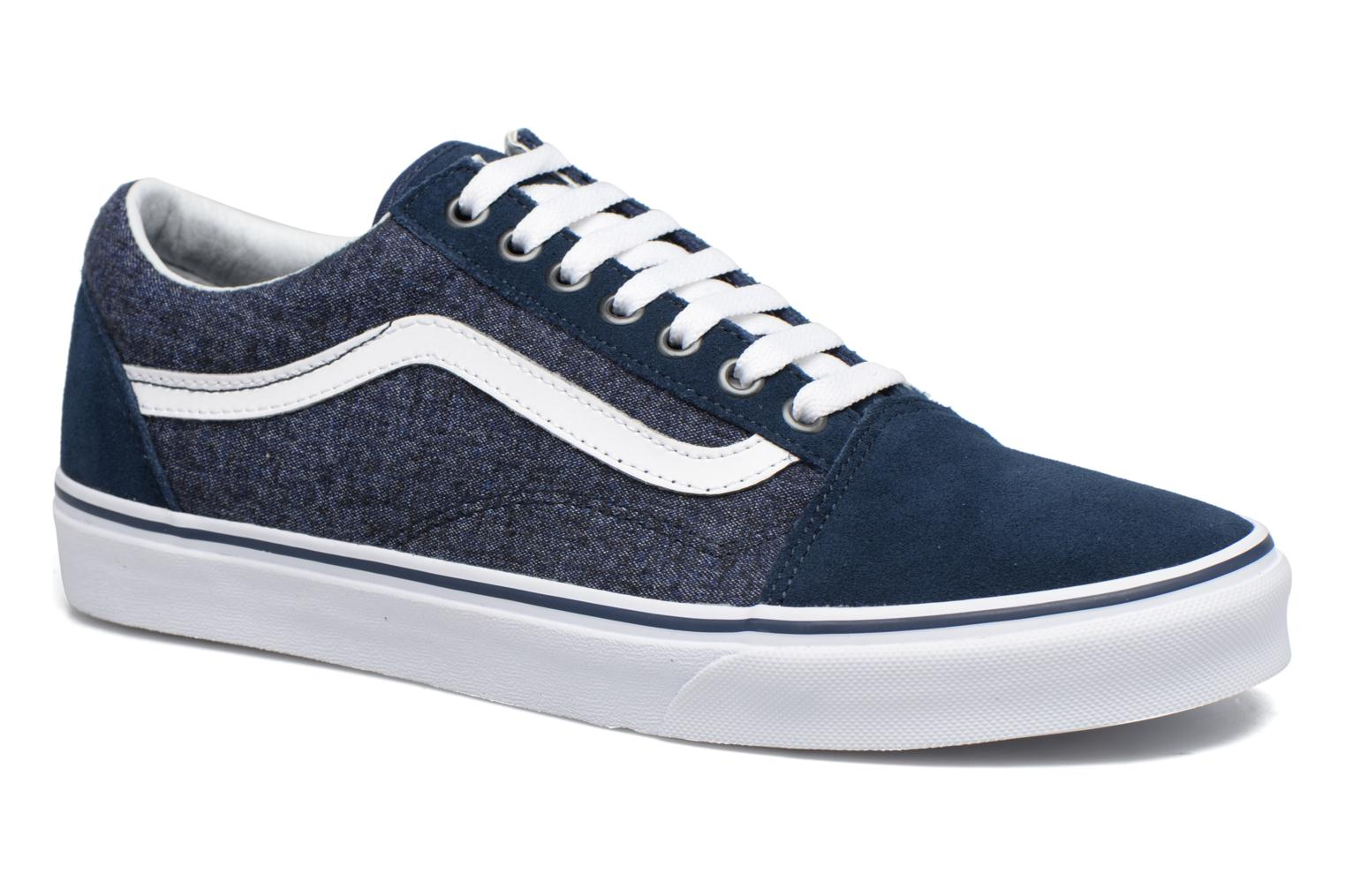 Trainers Vans Old Skool Blue detailed view/ Pair view