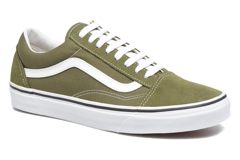 Deportivas Vans Old Skool Verde vista de detalle / par