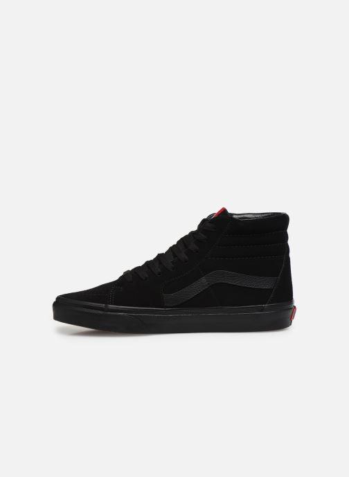 Sneaker Vans SK8 Hi M schwarz ansicht von vorne