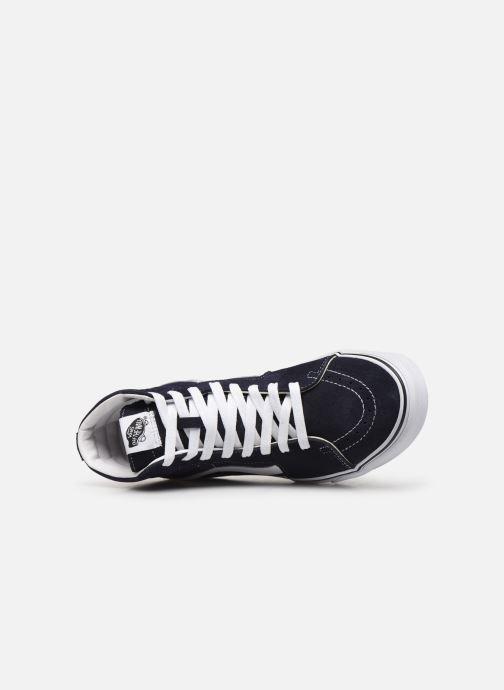 Sneakers Vans SK8 Hi M Blauw links
