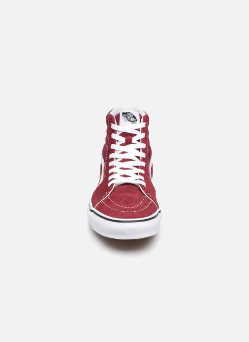 Sneakers Vans SK8 Hi M Vinröd bild av skorna på