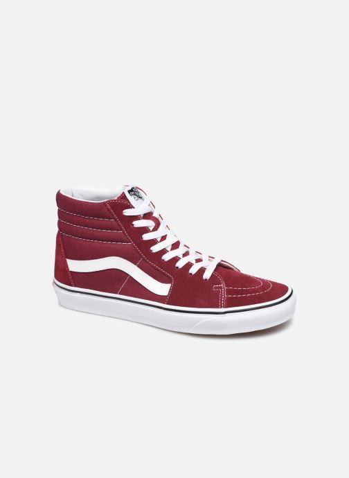 Sneakers Vans SK8 Hi M Bordeaux detaljeret billede af skoene