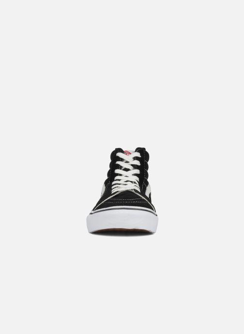 Baskets Vans SK8 Hi M Noir vue portées chaussures
