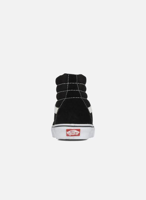 Sneaker Vans SK8 Hi M schwarz ansicht von rechts