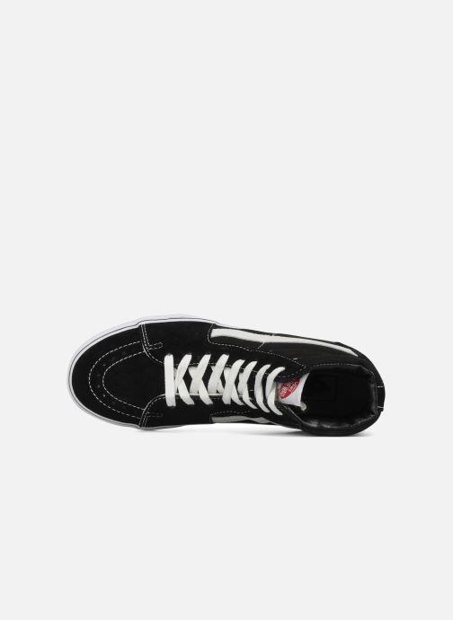 Sneakers Vans SK8 Hi M Zwart links