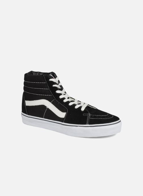 Sneaker Vans SK8 Hi M schwarz detaillierte ansicht/modell
