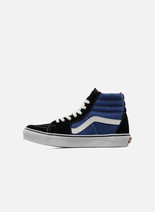 Sneaker Vans SK8 Hi M blau ansicht von vorne