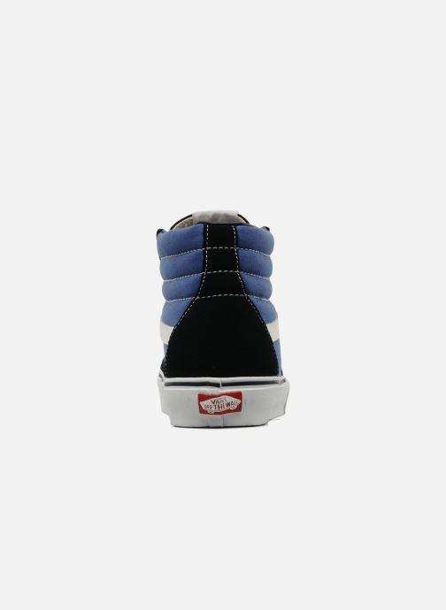 Baskets Vans SK8 Hi M Bleu vue droite
