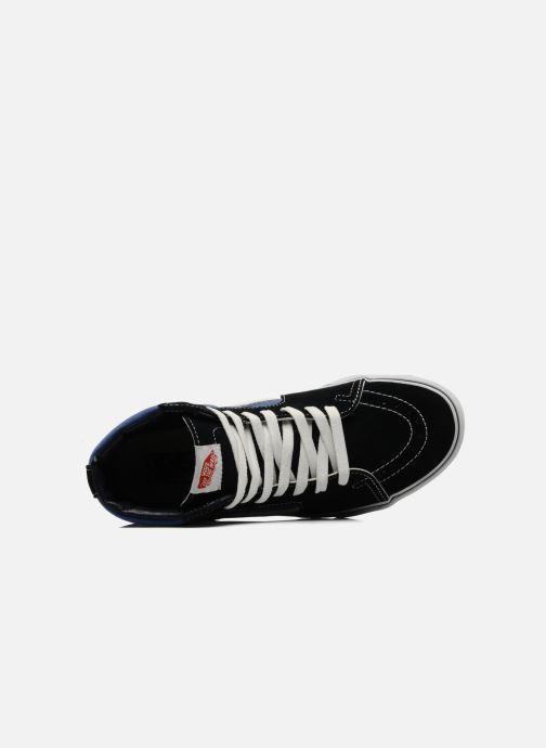 Sneaker Vans SK8 Hi M blau ansicht von links