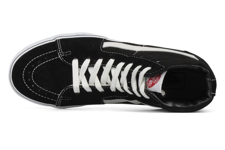 Sneaker Vans SK8 Hi M schwarz ansicht von links
