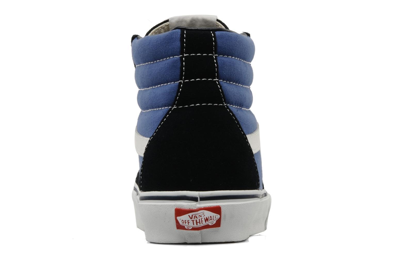 Sneakers Vans SK8 Hi M Azzurro immagine destra