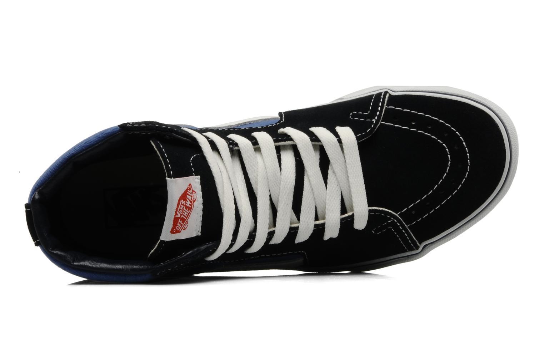 Sneakers Vans SK8 Hi M Azzurro immagine sinistra