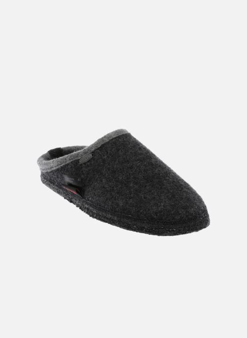 Hjemmesko Giesswein Dannheim M Grå detaljeret billede af skoene