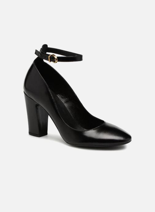 High heels Jonak Marina Black detailed view/ Pair view