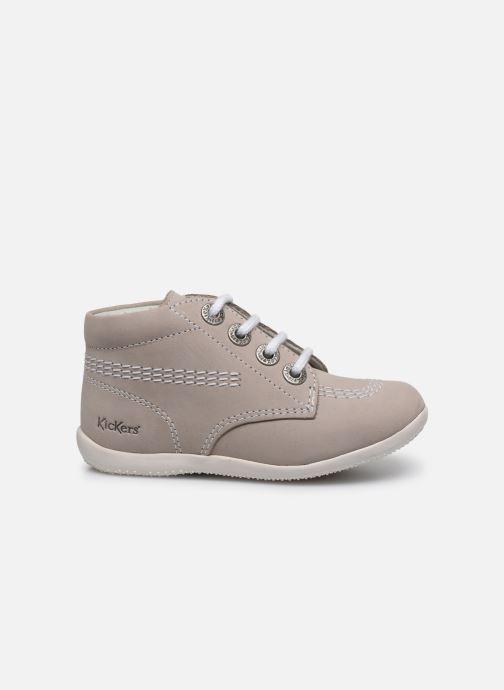 Zapatos con cordones Kickers BILLY B Gris vistra trasera