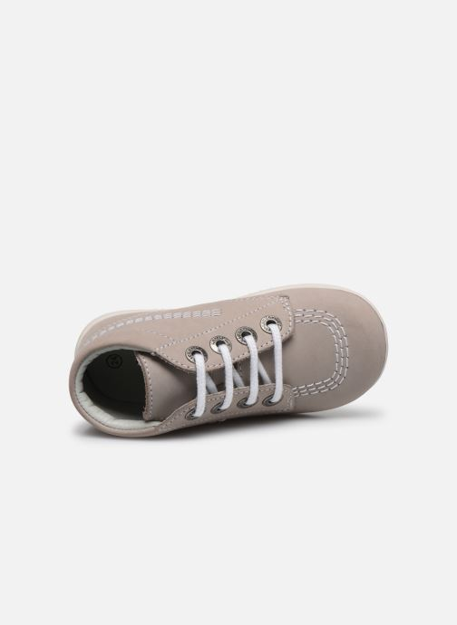 Chaussures à lacets Kickers BILLY B Gris vue gauche