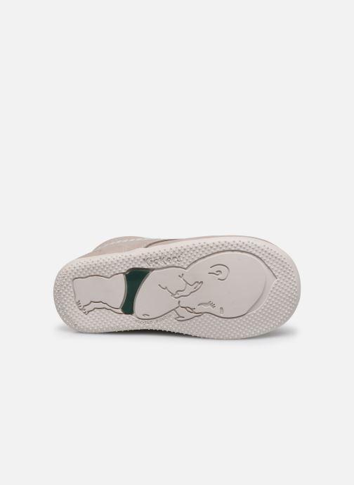 Zapatos con cordones Kickers BILLY B Gris vista de arriba