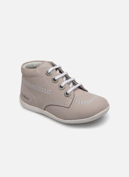 Zapatos con cordones Kickers BILLY B Gris vista de detalle / par