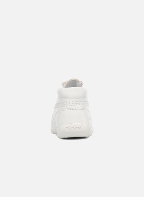 Chaussures à lacets Kickers BILLY B Blanc vue droite