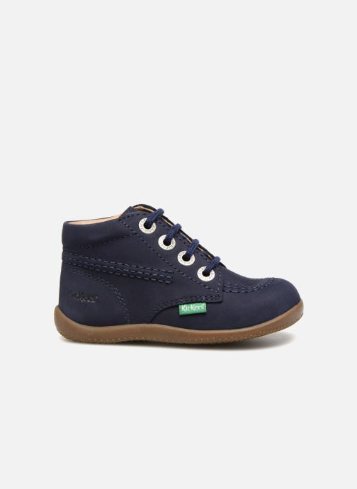 Chaussures à lacets Kickers Billy Bleu vue derrière