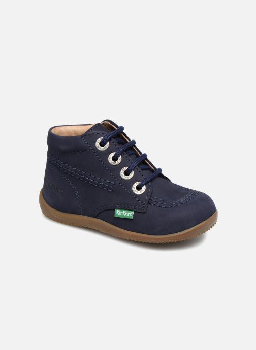 Chaussures à lacets Kickers Billy Bleu vue détail/paire
