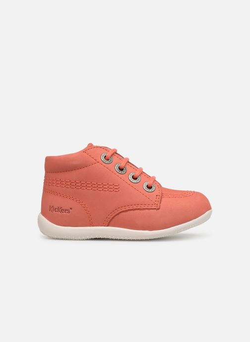 Zapatos con cordones Kickers BILLY B Rosa vistra trasera