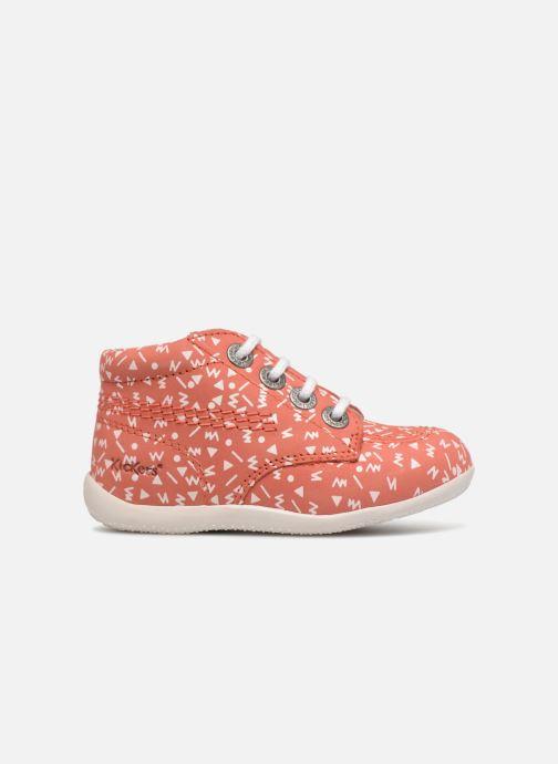 Chaussures à lacets Kickers BILLY B Rose vue derrière