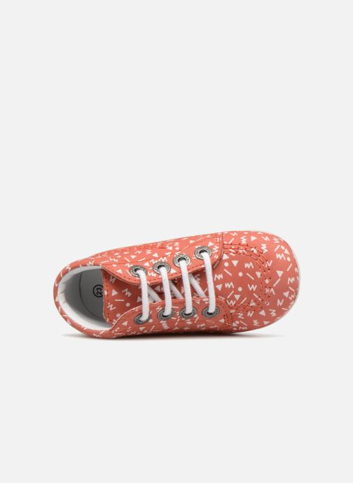 Chaussures à lacets Kickers BILLY B Rose vue gauche