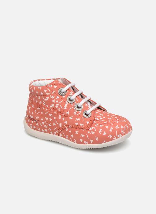 Chaussures à lacets Kickers BILLY B Rose vue détail/paire