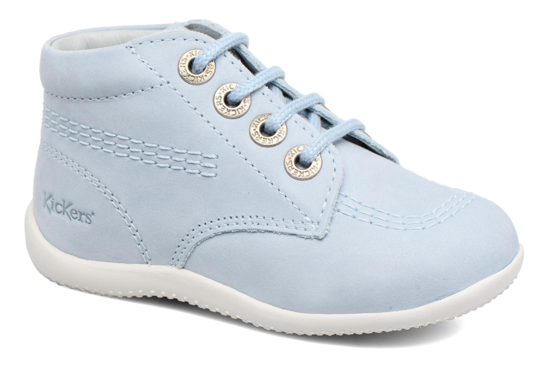 Zapatos con cordones Kickers Billy Azul vista de detalle / par
