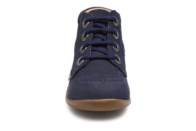 Chaussures à lacets Kickers Billy Bleu vue portées chaussures