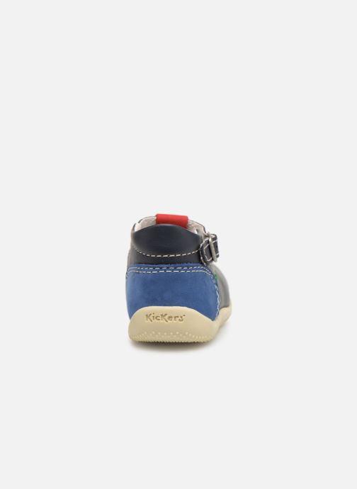 Kickers Bonbek (Bleu) Bottines d'été chez Sarenza (361028)