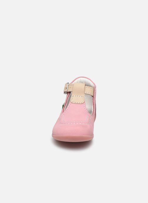 Sommerschuhe Kickers Bonbek rosa schuhe getragen