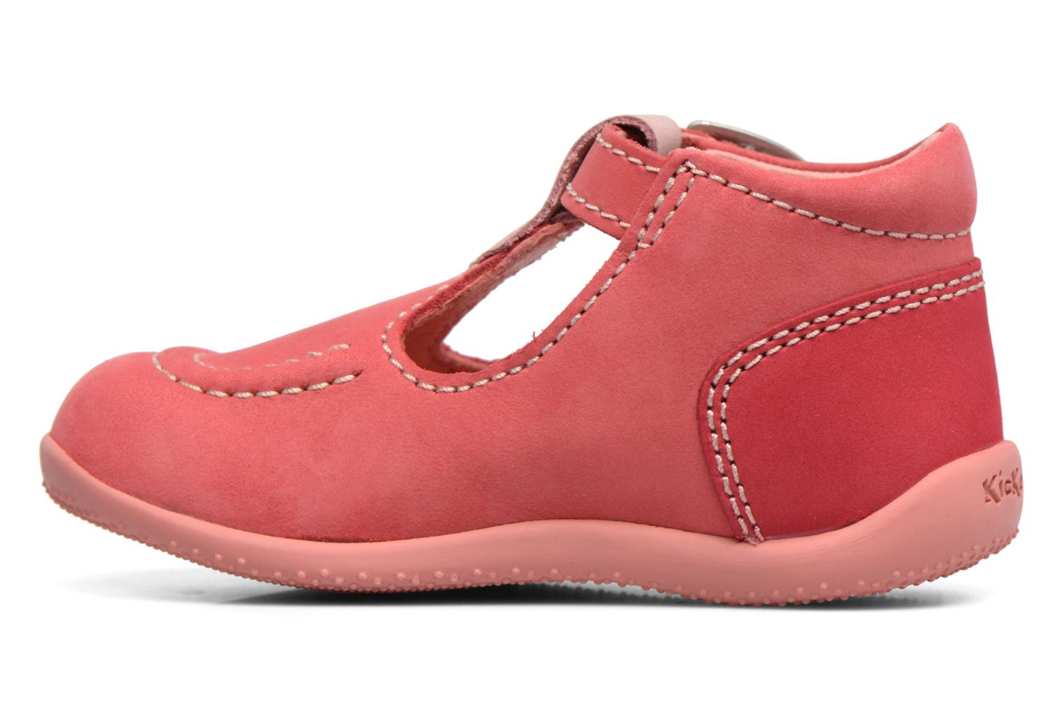 Bottines d'été Kickers Bonbek Rose vue face