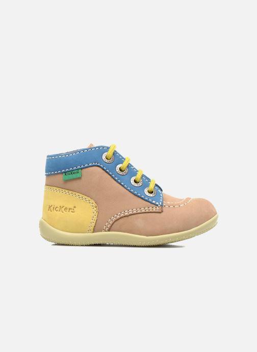 Bottines et boots Kickers Bonbon Beige vue derrière
