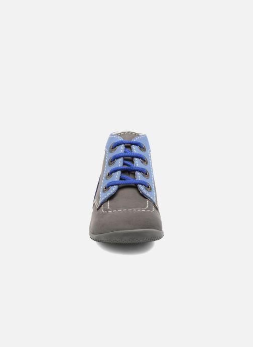 Bottines et boots Kickers Bonbon Gris vue portées chaussures