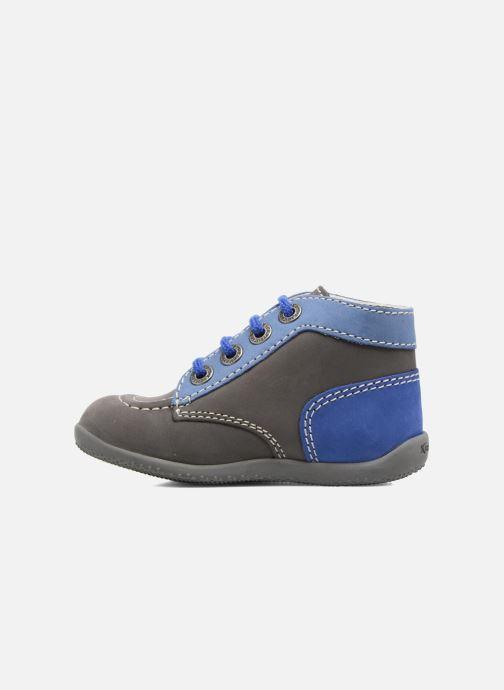Bottines et boots Kickers Bonbon Gris vue face