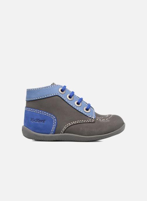 Bottines et boots Kickers Bonbon Gris vue derrière