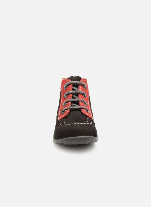 Stivaletti e tronchetti Kickers Bonbon Nero modello indossato