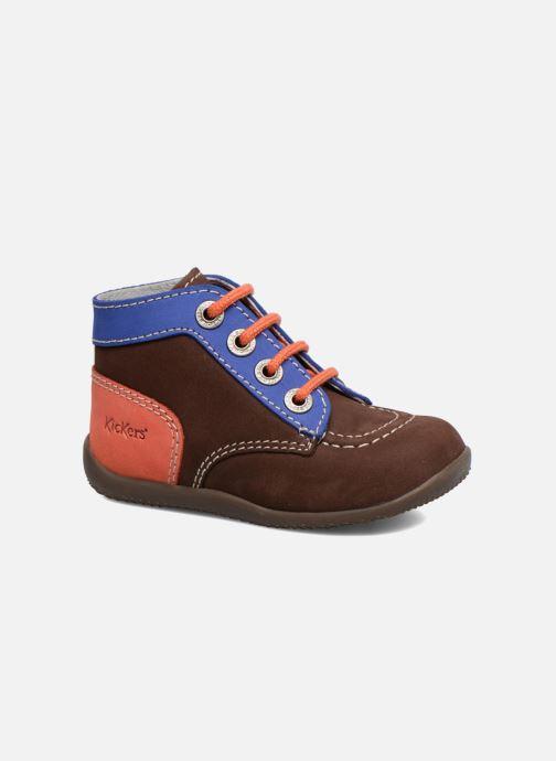 Bottines et boots Kickers Bonbon Marron vue détail/paire