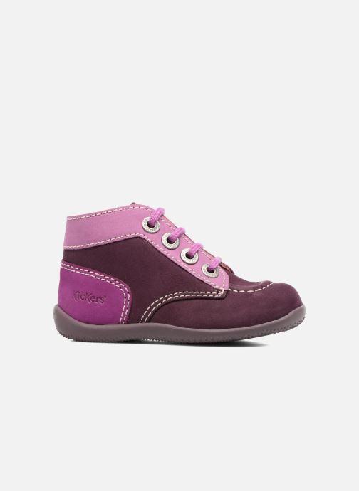 Bottines et boots Kickers Bonbon Violet vue derrière
