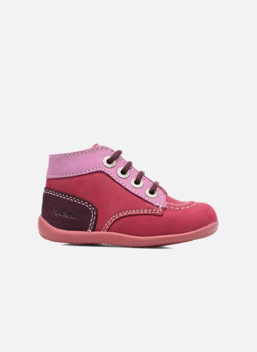 Bottines et boots Kickers Bonbon Rose vue derrière