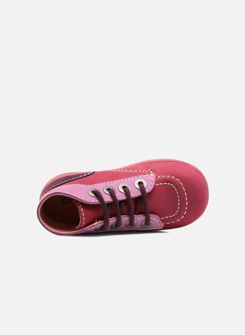 Bottines et boots Kickers Bonbon Rose vue gauche