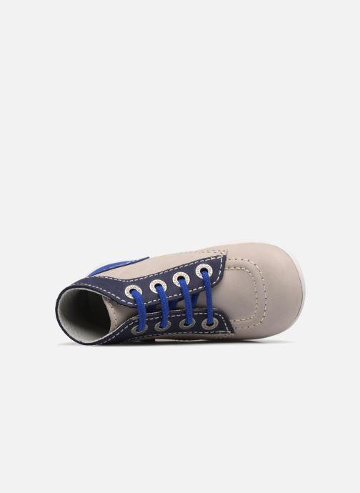 Bottines et boots Kickers Bonbon Gris vue gauche