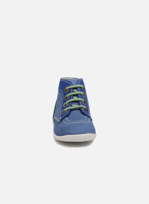 Bottines et boots Kickers Bonbon Bleu vue portées chaussures