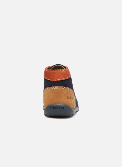Stiefeletten & Boots Kickers Bonbon blau ansicht von rechts