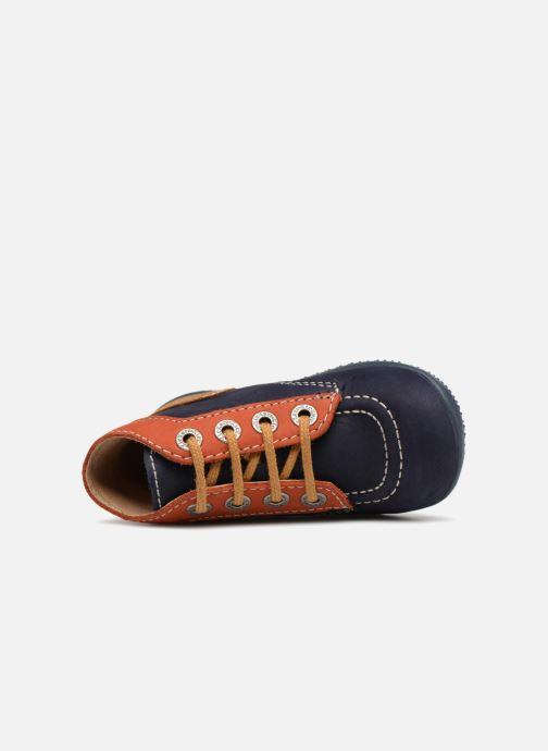 Stiefeletten & Boots Kickers Bonbon blau ansicht von links
