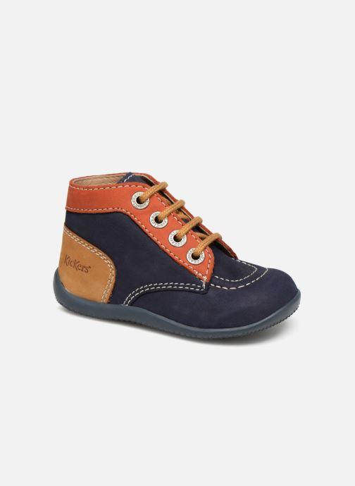 0ae95f7222f Kickers Bonbon (Blauw) - Boots en enkellaarsjes chez Sarenza (336538)