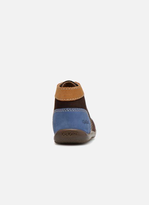 Bottines et boots Kickers Bonbon Marron vue droite