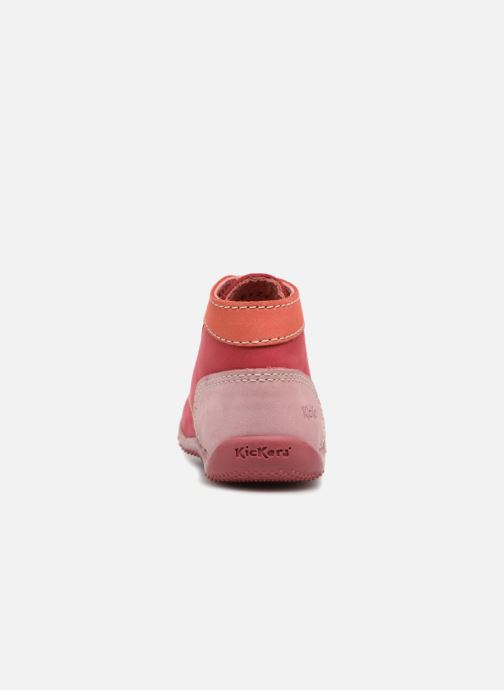 Bottines et boots Kickers Bonbon Rose vue droite